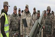 Учения с батальонами территориальной обороны  прошли на Западе Казахстана