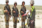 Подразделения РХБЗ впервые провели боевые стрельбы  из реактивных пехотных огнеметов