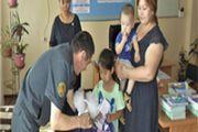 Военнослужащие провели благотворительную акцию  «Дорога в школу»