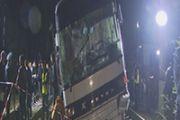 Пострадавший в результате столкновения пассажирского поезда с автобусом ребенок прооперирован