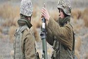 Боевые стрельбы проходят на западе Казахстана