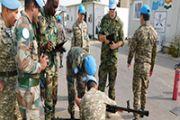 Казахстанские миротворцы в Ливане  успешно прошли инспекцию
