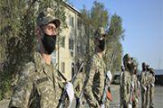 Курсанты Военно-технической школы Атырау  присягнули на верность Родине