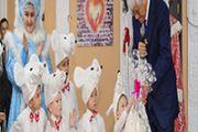 Аким Алматинской области поздравил воспитанников  детского дома «Айналайын» с Новым годом